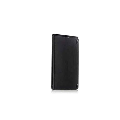 hehsd0 Falttastatur Home Office Travel Mini Tragbares Telefon Laptop Drahtlose uetooth-Aluminiumlegierung Wiederaufladbare Tastatur Dual-Mode-Tablet Wired Mute Full Size(Schwarz)