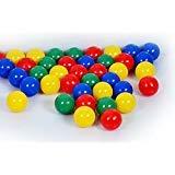 800 Bälle 7cm (Tüv geprüft und zertifiziert 2019) in Kindergarten & Gewerbequalität Babybälle Plastikbälle ohne gefähliche Weichmacher