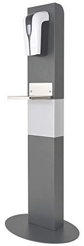 Hygienewächter 11 Sensor Desinfektionssäule Bodenständer Desinfektionsspender Maße (BxHxT): 200 mm x 1300 mm x 95 mm
