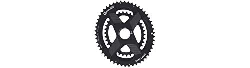 R ROTOR BIKE COMPONENTS Q Rings DM Oval Chainring 52/36 T Black