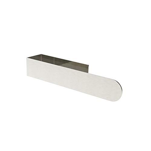 WNP Estantería para toallas, toallero de baño de acero inoxidable 304, toallero autoadhesivo 3M