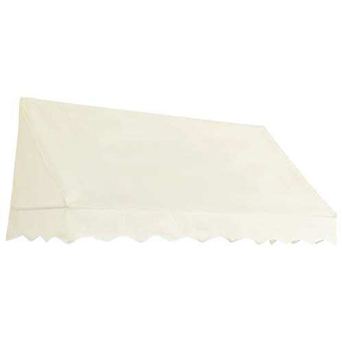 Tidyard Toldo para Bar Toldo Terraza Toldos Impermeables Exterior, Color Crema 200x120 cm
