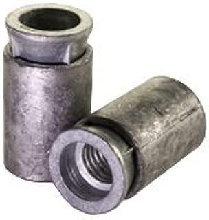 Length: 3-1//2 inch 100pcs 5//8 LONGx3 1//2 Lag Screw Expansion Shields Anchor Long Zinc Alloy Size: 5//8