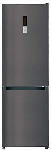 CHiQ Réfrigérateur congélateur bas FBM317NE4 317L (223 + 94) Froid ventilé, No Frost, Acier inoxydable, portes réversibles, A+, 42 db, 12 ans de garantie sur le compresseur