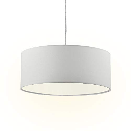 Modern Fabric Pendant Light, 15