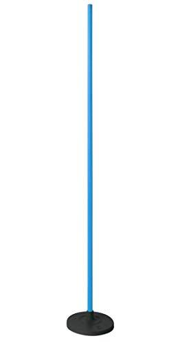 Visiodirect Piquet Slalom Terrain synthétique, Coloris Bleu -Dimensions : Longueur : 1,60 m Diamètre : Ø 25 mm.