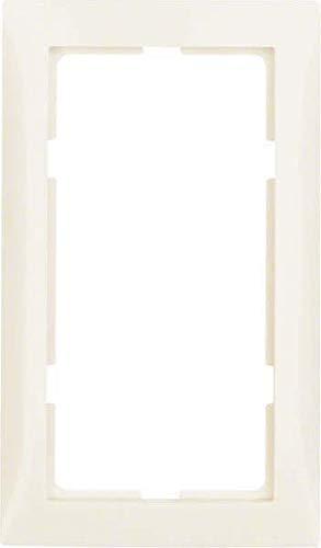 Hager 13098982 Wandplatte/Schalterabdeckung Weiß - Wandplatten und Schalterabdeckungen (Weiß, Duroplast, 136,5 mm, 80,5 mm)