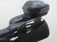 SHAD S0BN69ST Soporte de Baúl para Suzuki Gsx 650F, Negro