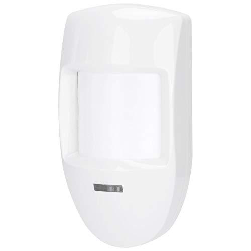DAUERHAFT Relé de Alarma de Detector de Movimiento PIR infrarrojo Doble con Cable de 12 V para Tiendas/hogares/Edificios de oficinas/Sistema de Seguridad de fábricas