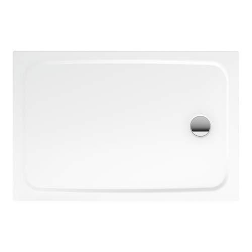 CAYONOPLAN Duschwanne bodeneben weiß 90 x 140 x 2,5 cm Modell 2267-1