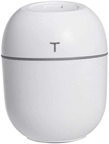 lndytq Humidificador ultrasónico pequeño Difusor de Aceite Esencial de Aroma de 200 ml Hogar Car USB Fogger Fabricante de Niebla con lámpara de Noche LED (Color: C)