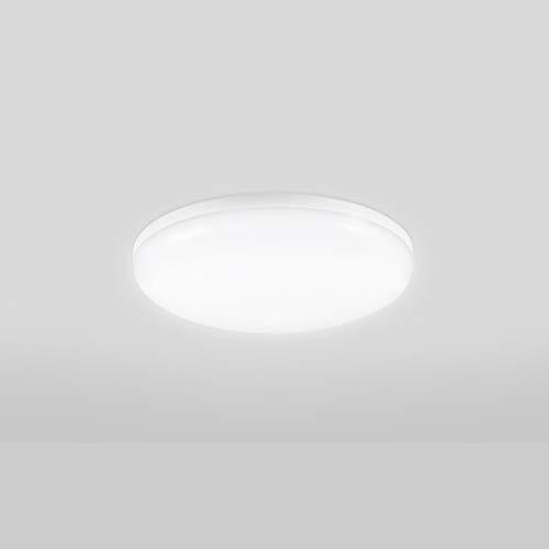 LED Deckenleuchte 12W Kaltweiß, 1200LM Deckenlampe für Wohnzimmer, Flur, Badezimmer, schlafzimmer, Balkon, Küche