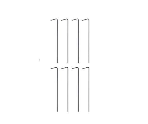 Hikole - Carpa plegable (3 x 3), color Negro , tamaño Mit Seitenteilen