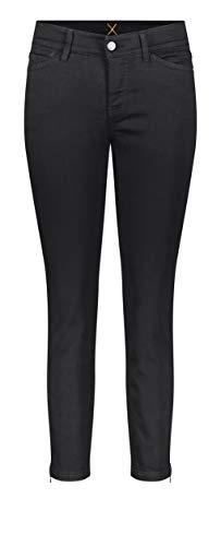 MAC JEANS Damen DREAM CHIC Jeans, Schwarz (Black-Black D999), 38W / 27L