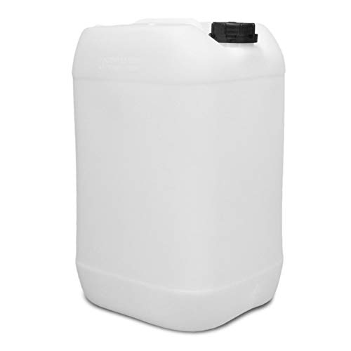 Premium Kanister 25L / natur aus HDPE/mit Schraubverschluss