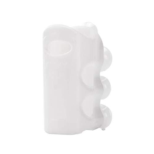 QoFina 2 Stück Duschkopfhalterung aus Silikon, Brausehalter Ohne Bohren Duschkopf Halterung Wand Badewanne Duschkopfhalterung Mit Saugnapf