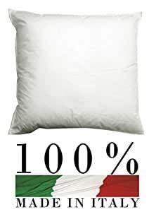 Alfio shop Set 4 Pezzi Anima Imbottitura anallergica per Cuscini Divano, Poltrona, Letto da Rivestire in Quattro Misure (45 X 45) (50X50)