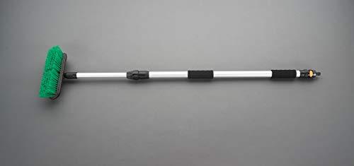 エスコ(ESCO) デッキブラシ(通水伸縮ハンドル) 270x1100-1750mm EA928CC-39