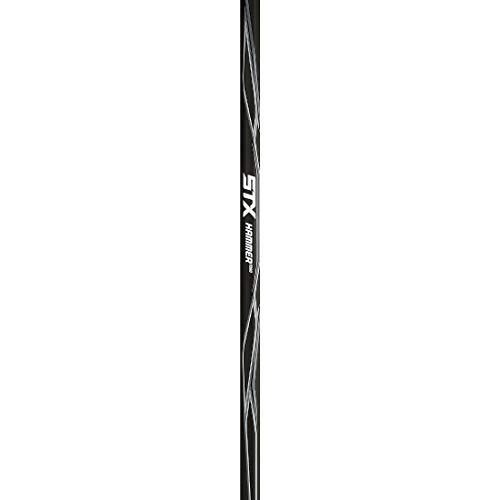 STX Lacrosse CS X10X WE DY/ADX7 77/PL X10 Defense Complete Lacrosse Stick with Hammer 7000 Shaft, White/Platinum