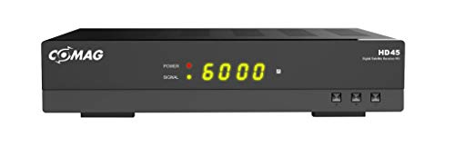 COMAG HD45 Digitaler HD Sat Receiver (Full HD, HDTV, DVB-S2, HDMI, SCART, PVR-Ready, USB 2.0) schwarz