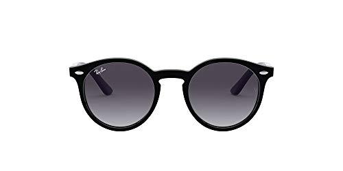 Ray-Ban Junior 0RJ9064S 70428G 44 Gafas de sol, Black/Grey Gradient, Unisex-niños