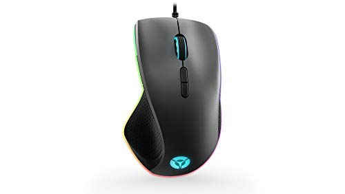 Lenovo Legion M500 RGB Wired Gaming Mouse – 16,000 DPI, 7 Programmable Buttons, RGB Backlit, Right-Handed Design, GY50T26467