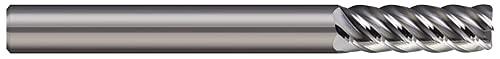 Micro 100 ARC-187-5-010 Corner Radius End Mill, 3/16