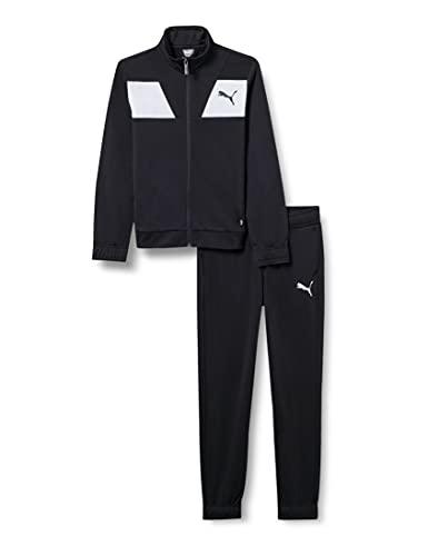 PUMHB #Puma Poly Suit Cl B, Tuta Sportiva Bambino, Puma Black, 140