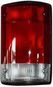 TYC 11-5007-01 Compatible with Ford Passenger Side Replacement Tail Light Assembly