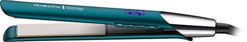 Remington Advanced Coconut Therapy Ceramic Hair Straightener - Salon Performance 110 mm Hair Straighteners with Integrated Temperature Sensor - S8648