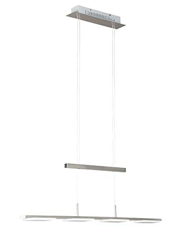 Action hanglamp, 4 lampen, serie Verso, 4 x LED, 4 W, diepte 120 cm, ophanging 150 cm