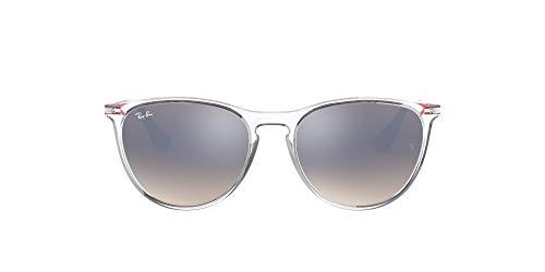 Ray-Ban Mädchen 9060s Brillengestelle, Transparent (Trans), 50