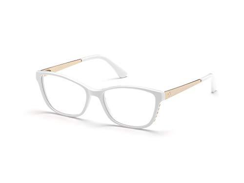 Guess Brille für Vista GU2721 021 weiß rahmenmaterial: kunststoff größe 54-mm-brillen-frau