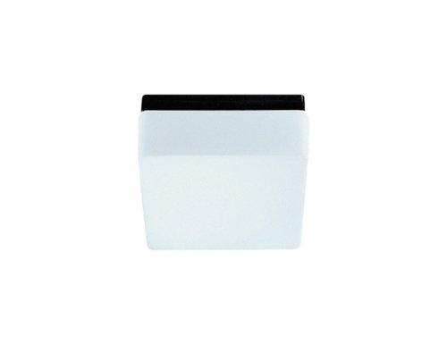 RZB Wand-/Deckenleuchte/schwarz / IP43 / E27 / 19 x 19 x 10 cm 20127003