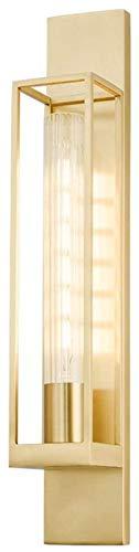 YONGYONGCHONG Lámpara de pared decorativa para comedor, salón, violeta, ambiente creativo, lámpara de pared, pasillo, 100 x 60 cm, iluminación