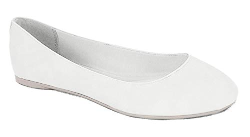 Top 10 best selling list for plain white flat shoes