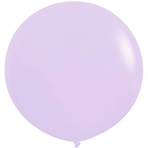 36 Inch Giant Latex Balloons, Neo LOONS Pastel Lavender Rainbow Balloons Large Macaron Balloons for Birthdays Weddings Receptions Festival Party Decoration, Pack of 5 Pcs