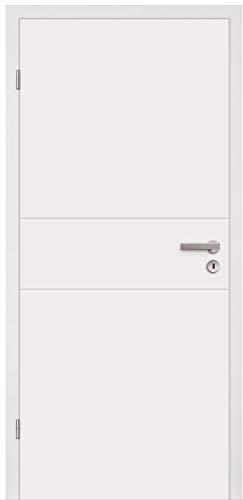 HORI® Zimmertür I Innentüre passend für alle Standard-Zargen mit DIN Größe I 1985 x 735 mm I DIN Links