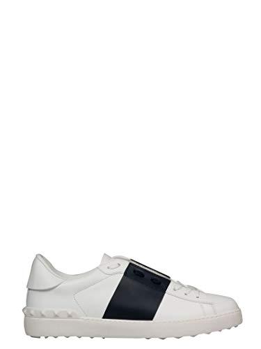 Valentino Luxury Fashion Garavani Herren VY0S0830BLUM15 Blau Leder Sneakers   Jahreszeit Permanent