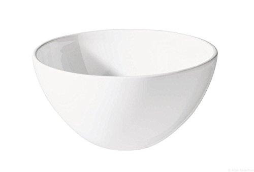ASA 4777147 Coque en céramique Blanc 36 x 36 x 8 CM
