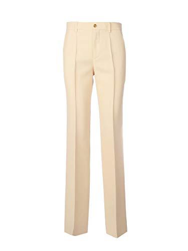 Luxury Fashion | Gucci Dames 609657ZAD889205 Roze Zijde Broeken | Lente-zomer 20
