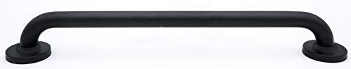 Ridder Comfort handgreep, badhandgreep, aluminium, zijdemat zwart, ca. 60 cm.
