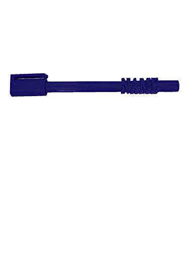 Personalisierbare 3D-Stifte, Kunststoff, mit Namen auf einem 3D-Stift, Blau