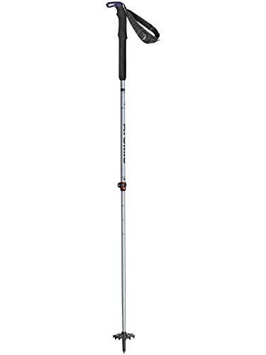 Atomic Damen 1 Paar Touring-Skistöcke BCT Touring Carbon SQS, 80-130 cm (Teleskopstock), Aluminium, BCT Touring SQS W, blau/grau, AJ5005462001