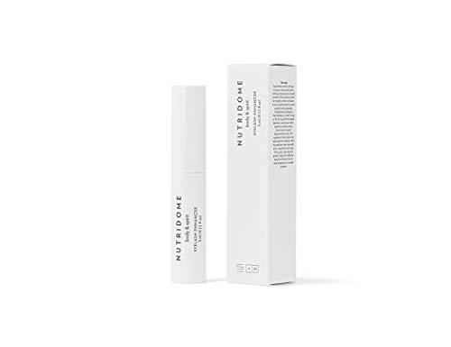 NUTRIDOME Wimpernserum 3ml für ein Starkes und Schneller Wimpernwachstum, Wimpernverlängerung, Aktive Wachstum Conditioner, Naturkosmetik, Eyelashes Growth Serum