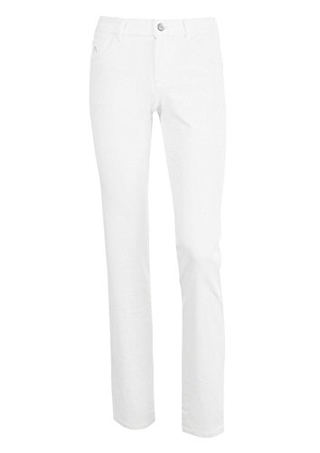 ALBERTO Damen Golfhose Julia 3xDry Cooler White (44/R)