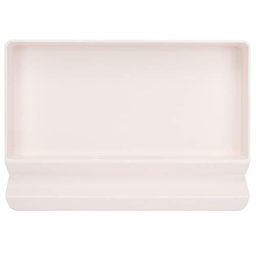 Biitfuu Kunststoff Desktop Storage Organizer, Catchall Tray, Valet Tray, Nachttisch oder Dresser Organizer Full Size Plastic Stackable Jewelry Tray(1)