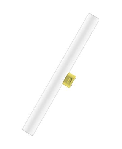 OSRAM LEDinestra® advanced / Tube LED S14d, Longueur: 300 mm, Dimmable, 6W Equivalent 25W, dépolie, Blanc Chaud 2700K, Lot de 1 pièce