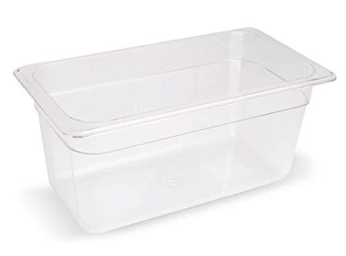 Sous Vide Behälter Polycarbonat 1 3 GN 8,1 Liter 176x325x200 Becken bis 138°C