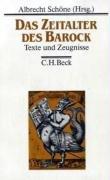 Die Deutsche Literatur Bd. 3: Das Zeitalter des Barock